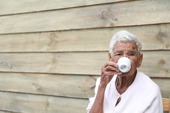 woman drinking on teacup - Credit to https://myfriendscoffee.com/ (John Beans) Tags: coffee drinking elderly woman cafe coffeebeans shopbeans espresso coffeecup cup drink