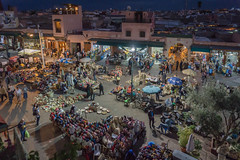Rahba Kedima Square, Marrakech (iammattdoran) Tags: morocco marrakech culture history travel excursion travelling adventure sultry african north africa berber market bazaar souk spices colour evening night textiles arab desert shops commerce trading trader seller tourist tourism photography