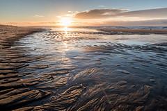 Lister Weststrand (andreas.zachmann) Tags: deu sand mellhörn meer küste sonne himmel spiegelung sonnenuntergang wasser strand wellen wolken nordsee list schleswigholstein deutschland