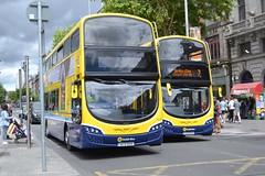 Dublin Bus SG10 142-D-12034 & SG332 172-D-22753 (Will Swain) Tags: dublin 16th june 2018 bus buses transport travel uk britain vehicle vehicles county country ireland irish city centre south southern capital sg10 142d12034 sg332 172d22753 sg 10 332