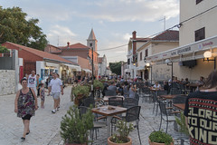 Square in Nin with restaurants and people (Meindert Mulder) Tags: nin dalmatia zadar croatia travel tamron2875mmf28 nikon d750 fullframe summer europe adriatic street city people outdoor square trg piazza restaurants outside bar nikkor village happy kroatien kroatië kroatia croatie κροατία クロアチア хорватия 克罗地亚 hrvatska קרואטיה croacia