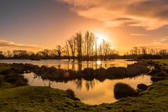Cossington. (Pete Cartwright) Tags: cossington leicestershire nikon d7200 sigma 1020mm wide angle lanscape sunrise trees water lakes
