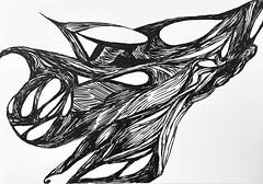 Exploring open spaces #drawing #sketch #sketchbook #illustration #penandink #ink #progressive #scribbleart  #art #graphicart (webloreArt) Tags: drawing sketch sketchbook illustration penandink ink progressive scribbleart art graphicart