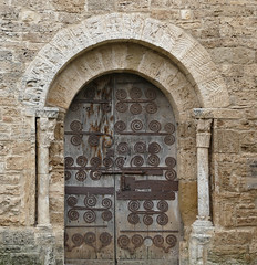 CORTS - PORTA ESGLÉSIA (Joan Biarnés) Tags: corts pladelestany girona catalunya església 294 panasonicfz1000
