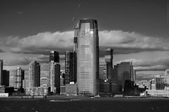 NYC - Jersey City skyline  # 046 (ricardocarmonafdez) Tags: nyc manhattan cityscape city ciudad cielo sky nubes clouds blue azul arquitectura architecture rascacielos skyscraper skyline buildings monocromo monochrome blackandwhite bn blancoynegro ricardocarmonafdez ricardojcf nikon d850