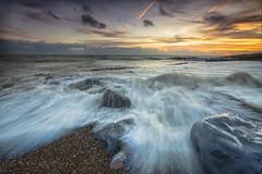 Tumble (Through Bri`s Lens) Tags: sussex lancing waves beach rocks sea seascape brianspicer canon5dmk3 canon1635f4 leefilters