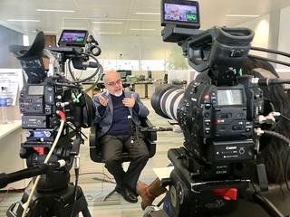 Interview with Editor of Asgard Al-Awsat, Saudi owned pan-Arab paper.