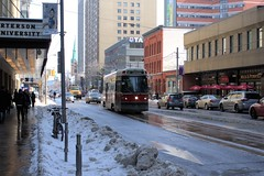069 -1crp1stpf (citatus) Tags: ttc streetcar 4081 westbound carlton street church route 506 gay village toronto canada winter afternoon 2019 pentax k3 ii