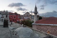 Стамбул (Alexandra Khazanova) Tags: europe istanbul turkey roof sunset kubbe