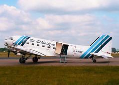 G-AMSV Douglas DC-3A Air Atlantique (Keith B Pics) Tags: gamsv kn397 airatlantique bigginhill dc3 c47 dakota douglas dak keithbpics indianairforce himdusthaninfrastructureglobalinvestments usaf4476488 n347dk airatlantic iaf raf