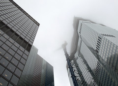 Misty city (Tony Worrall) Tags: london city southsoutheast capital tall architecture building clouds cloudy misty highrise office bank modern design update place location uk england visit area attraction open stream tour country item greatbritain britain english british gb capture buy stock sell sale outside outdoors caught photo shoot shot picture captured ilobsterit instragram