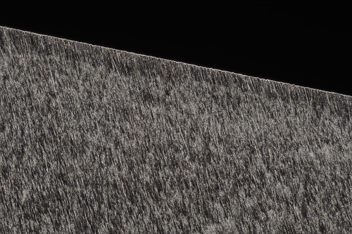 Razor sharpening  on CF. Micro