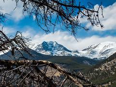 P4200034-Close-up of Pike's Peak summit (landscapes through the lens) Tags: bearlake colorado estespark flickr hallettpeak ice landscapes longs longspeak moraine morainepark mountains rockymountainnationalpark snow trail