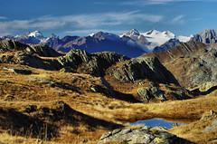 San Gottardo (Tjaldur66) Tags: airolo mountains swissalps swissmountains fall autumn peaks moor rocks autumncolours switzerland ticino outdoor hiking breathtakinglandscapes