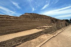 Lima, Peru | Huaca Pucllana 01 (Christopher James Botham) Tags: peru peruvian southamerica southamerican south america american latinamerica latinamerican latin lima ruin ruins ancient architecture building adobe mudbrick brick