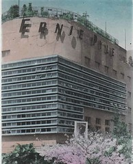 THE ERNIE PYLE HOTEL, TOKYO JAPAN 1940s (Donald Douglas) Tags: old tokyo ernie pyle hotel japan takarazuka circa 1947
