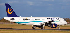 Airbus A-320 EC-LAJ (707-348C) Tags: dublinairport dublin eiwd passenger airliner jetliner airbus airbusa320 eclaj iberworld iwd dub a320 ireland 2011