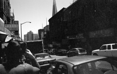 wandering (blakeboulka) Tags: 35mm blackandwhite ilford delta100 film bw delta bnw walking exploring chinatown sanfrancisco grainy manual analog nikon f3