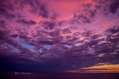 Evening sky in pink (katrinchen59) Tags: sunset sundown pinksky pinkclouds horizon colorfulsky skyphotography beautifulsky eveningsky clouds dramaticsky sonnenuntergang abendhimmel wolken lilawolken horizont wolkenfotografie zonsondergang avondlucht