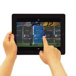 テレビ視聴アプリケーションの写真