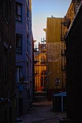 Fenway Back Alley (BlueShift 12) Tags: fenway boston alley urban city rawtherapee canoneos5dmarkii