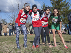 Sofia Marchegiani, Cecilia Costantini, Elisa Marini con Anna Mengarelli