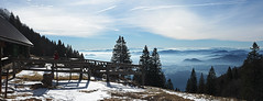 Shepherds hut in winter (Vid Pogacnik) Tags: slovenija slovenia kamnikandsavinjaalps storžič storzic meadow hut velikapoljana outdoors hiking landscape panorama