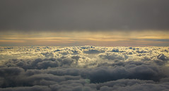 In the clouds (Andy.Gocher) Tags: andygocher canon100d sunset clouds cloudsstormssunsetssunrises cloudscape layers