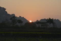 Sun Rise @ Koil Sagar (dbratnam.flikr) Tags: sunrise koilsagar mountains mahbubnagar weekendgetaway