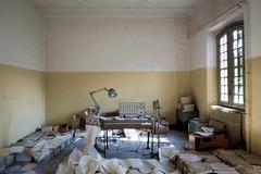I'll finish it tomorrow.... (Mike Foo) Tags: urbex abandoned abbandono hdr rozklad opuštěný opuszczony dystopia fujifilm xt2 lost secret decay hospital asylum architecture artistic derelict spooky haunting
