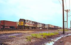 EL 2456                            7-72 (C E Turley) Tags: railroads railways trains alco c425 c628 dh el pc erielackawanna