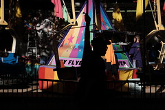 sky flyer (jhnmccrmck) Tags: xt1 skyflyer colours silhouettes carnival classicchrome fujifilm 3000 victoria melbourne iminexplore explore
