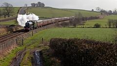 Making Tracks (Richie B.) Tags: 45596 5596 stanier north british lms london midland scottish railways jubilee 5xp 6p bahamas railtour west coast railway company greenlands settle and carlisle cumbria 1z59