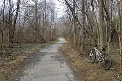 2019 Bike 180: Day 20 - Cross County Trail (mcfeelion) Tags: cycling bike bicycle bike180 2019bike180 cct annandaleva winter