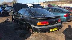(Sam Tait) Tags: car scrap classic rare retro black 100nx nx 100 nissan