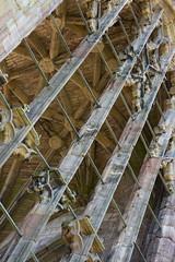_DSC1471.jpg (Hideous Elf) Tags: abbey chruch detail grave lights melrose melroseabbey shadow stone
