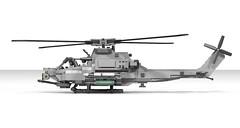 Lego AH-1Z Viper / Super Cobra | Minifigure Scale (DarthDesigner) Tags: ldd moc builds instructions bricks brick mocs legodigitaldesigner starwars oninemesis thedarthdesigner tdd military lego digitaldesigner darth helicopter ah1 ah1z cobra viper supercobra ah1zviper attackhelicopter