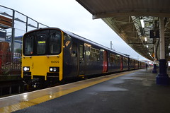 Northern Sprinter 150120 (Will Swain) Tags: station 20th september 2018 greater manchester city centre north west train trains rail railway railways transport travel uk britain vehicle vehicles england english europe salford crescent bolton northern sprinter 150120 class 150 120
