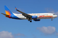 G-DRTT (GH@BHD) Tags: gdrtt boeing 737 738 737800 b737 b738 ls exs jet2 jet2holidays ace gcrr arrecifeairport arrecife lanzarote aircraft aviation airliner