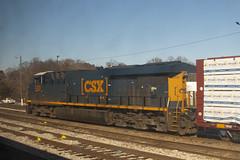 CSX 3209 (imartin92) Tags: richmond virginia csx railroad freight train yard locomotive ge generalelectric gevo es44ac