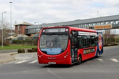 Go North East: 5455 / NK66 EWD (Northern Transport Photos) Tags: nebuses gonortheast gonorthern goahead goaheadnortheast metrocentre metrocentretransportinterchange