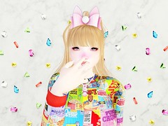 Easter bunny chan (❀✿ Kate ✿❀ !cream spaghetti hair!) Tags: jesydream makeup cosmetic applier groupgift fashion somgift