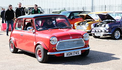 1978 Leyland Mini AGN174S Brooklands Mini Day March 2019 (davidseall) Tags: 1978 leyland mini blmc bmc agn174s agn 174s car classic original old shape great british brooklands day march 2019 weybridge surrey uk red