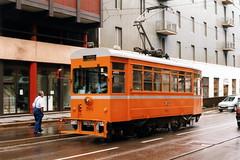 Milano 705--03-08-1998--147 (phi5104) Tags: trams italia milano atm 1998