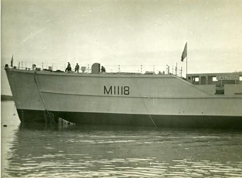 'CALTON' Coastal Minesweeper 1953 Photo's & Ephemera. Personal to Alf Jefferies.