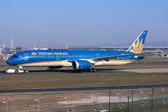 Vietnam Airlines  Boeing 787-9 Dreamliner VN-A863 (widebodies) Tags: frankfurt main fra eddf widebody widebodies plane aircraft flughafen airport flugzeug flugzeugbilder vietnam airlines boeing 7879 dreamliner vna863