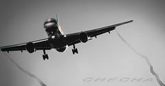 Privilege B757 (joseramongonzalez544(Checha)) Tags: boeing 757 privilege style nikon d810 avion pilot cndensacion airliner lest lavacolla estelas 500mmf4 nikkor aviation photo