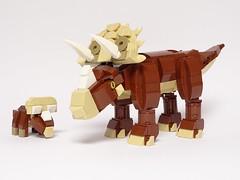 Triceratops (LuisPG2015) Tags: dinosaurio dinosaur triceratops lego