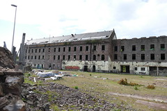 Wallace Craigie Works Dundee 2016 (20) (Royan@Flickr) Tags: 201605 wallace craigie works dundee william halley sons blackcroft landmark jute mill factory buildind demolished history 2016