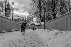 050219-03bw (vazek2007) Tags: street streetphotography saintpetersburg winter church cathedral peoples way blackandwhitephotography bnwphoto bnw monochrome ricoh ricohgr gr2